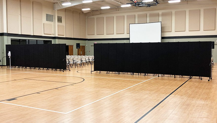 gymnasium barriers