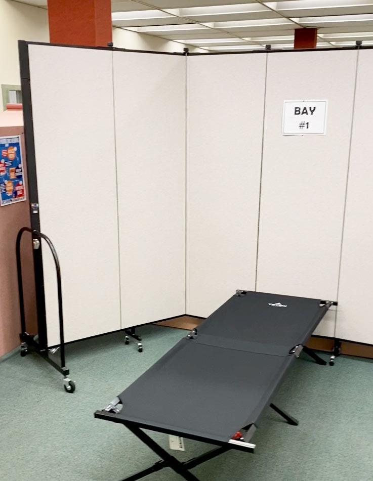 temporary nurse clinic dividers