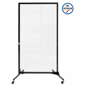 One panel clear divider